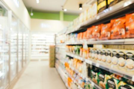 Abstract vervagen en intreepupil supermarkt verkoopt en winkelen voor de achtergrond