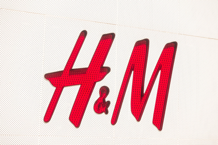 PATTAYA , THAILAND JAN 19 2018 H&M is the global brand in fashion shop around the world Editorial