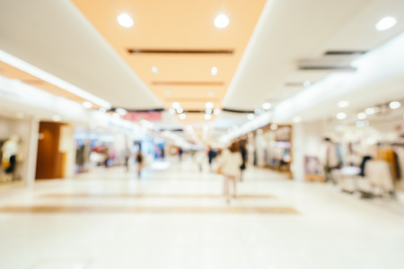 Abstract blur and defocused shopping mall of department store for background Stockfoto