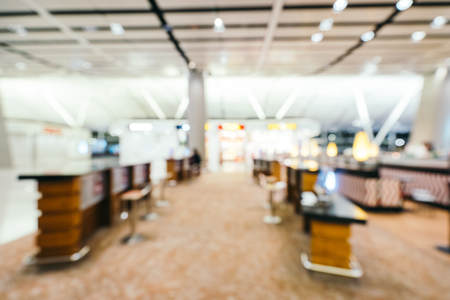 Abstract blur and defocused airport terminal interior for background Imagens - 115468488