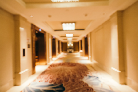 Abstract blur and defocused hotel lobby interior for background Imagens - 115468490