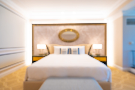 Abstract blur and defocused bedroom interior for background Imagens - 115468546