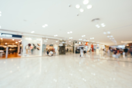 Abstract blur and defocused shopping mall of department store interior for background Imagens - 115468558