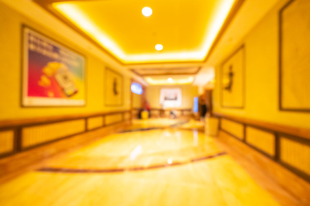 Abstract blur and defocused hotel lobby interior for background Imagens - 115468563