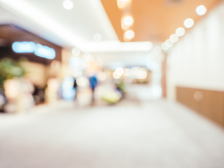 Abstract blur and defocused shopping mall of department store for background Imagens - 115468455