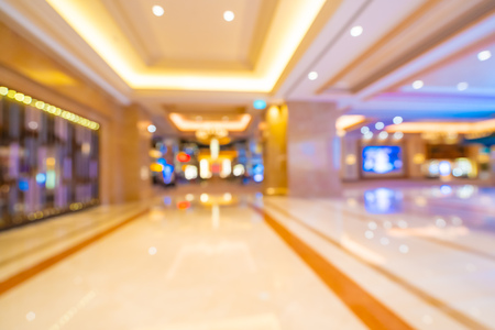 Abstract blur and defocused shopping mall of department store interior for background Imagens - 115468463