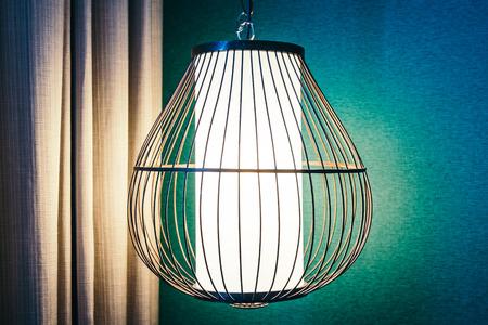 Beautiful Light lamp decoration interior Imagens
