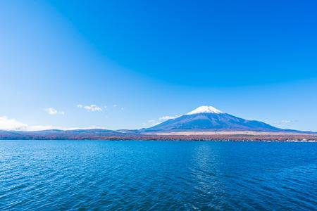 Beautiful landscape of mountain fuji around yamanakako lake Japan Stockfoto