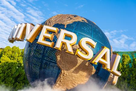 Osaka, Japan - 12 November 2018 : Beautiful amusement attraction in Universal studio Osaka Japan Editorial