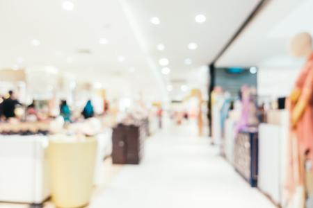 Abstrakte Unschärfe und defocused Einkaufszentrum des Kaufhausinnenraums für Hintergrund