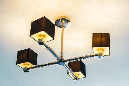 Ceiling light lamp decoration interior of room