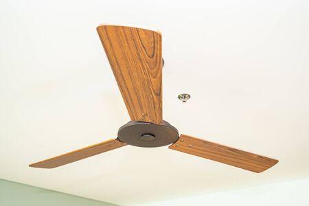 Beautiful luxury electric ceiling fans decoration interior room Reklamní fotografie