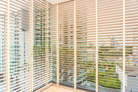Blinds shade window decoration interior of room 写真素材
