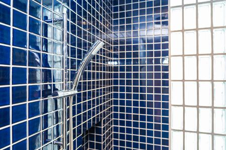 Water Shower splash bath decoration interior of bathroom