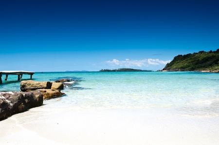 Secluded tropical beach Koh Kod Thailand