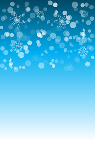 blizzards: Christmas snowflakes background.center space