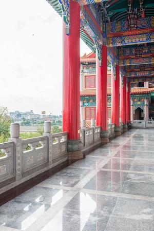 nonthaburi province: Chinese temple, Wat Leng-Noei-Yi in Nonthaburi province, Thailand Stock Photo