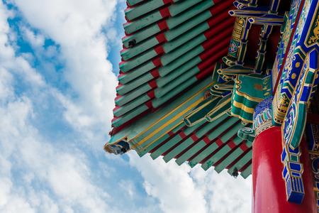 nonthaburi: Chinese temple, Wat Leng-Noei-Yi in Nonthaburi province, Thailand Stock Photo