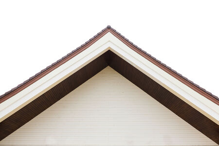 gabled houses: the Gabled houses is closeup Stock Photo