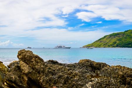 viewed: viewed from Yanui Beach, Phuket, Thailand
