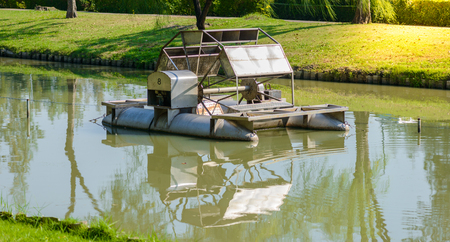 fill: Aerator turbine wheel fill oxygen into water