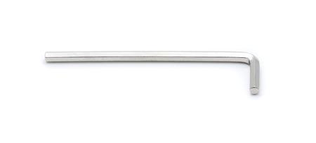 toolset: hex key wrench isolated on white background