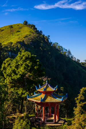 tang: background of nature at Doi Pha Tang viewpoint ,Chiang Rai province in Thailand.  beautiful location and very popular for photographers and tourists