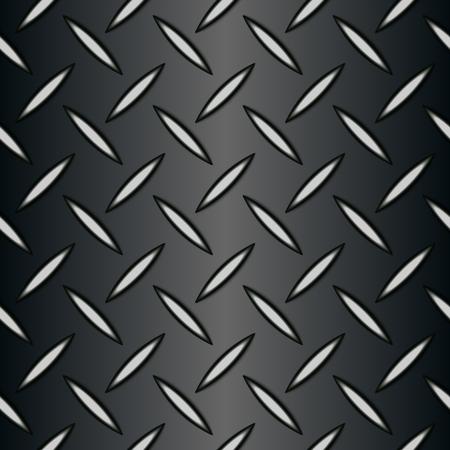 Fond en métal de tuile de papier peint de texture de plaque de diamant sans soudure