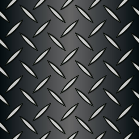 Metal background of Seamless Diamond plate texture wallpaper tile