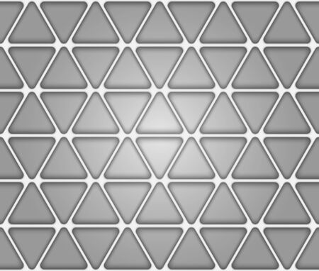 Volume realistic texture, gray 3d Triangle geometric pattern, design vector seamless Abstract background. use for wallpaper, webpage, tiling, layout Imagens