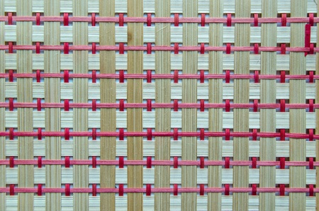 handcraft bamboo wood weave texture ,Background photo