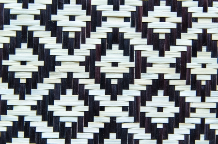 handcraft bamboo wood weave texture black   white photo