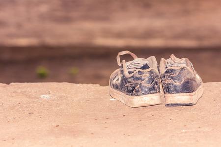 dirty: Dirty sneakers