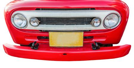 headlights: Headlights isolate on white background Stock Photo
