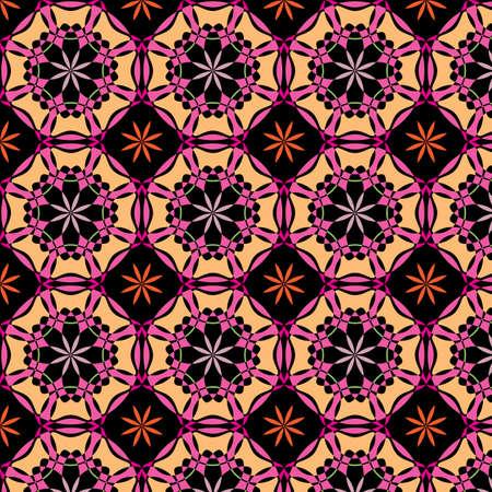 abstract vintage color wallpaper pattern  background. Vector illustration Illustration