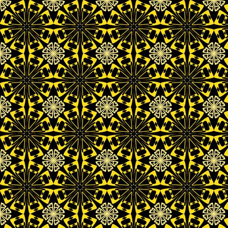 wattled: abstract vintage color wallpaper pattern  background. Vector illustration Illustration