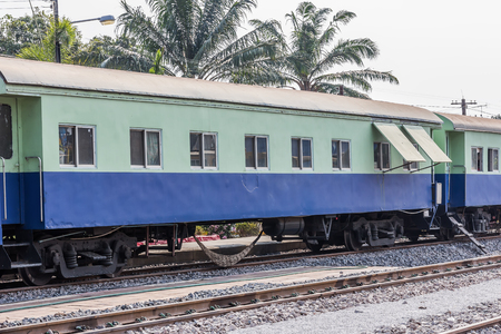 bogie: Between bogie of a Public Thai Train Railway
