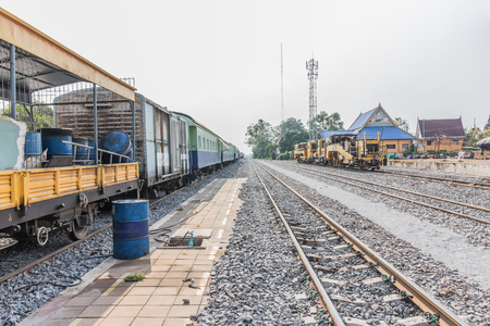 diesel train: Diesel Locomotive, Train in Thailand