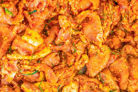 Fermented Fresh Chicken Meat.
