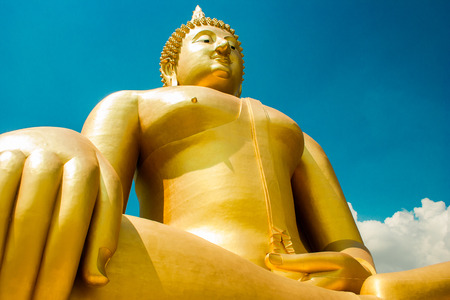 buddism: Buddism statue Stock Photo