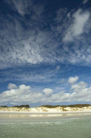 Tropical paradise ocean beach