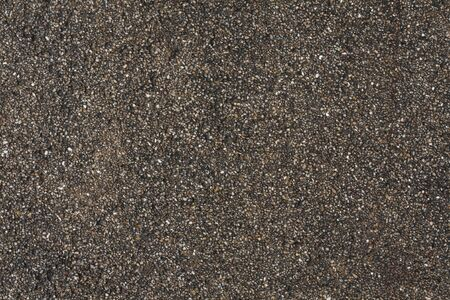 Concrete filled with gravel texture photo