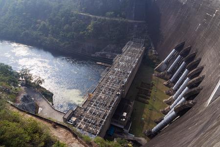 Bhumibol dam in Thailand Stock Photo - 24932537