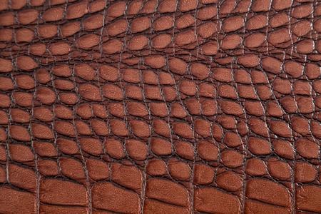 Artificial crocodile skin texture Stock Photo - 25038403