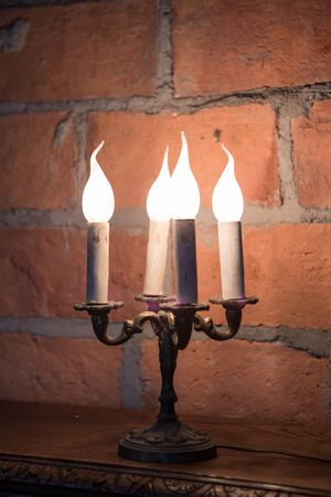 fires artificial: Artificial candlesticks