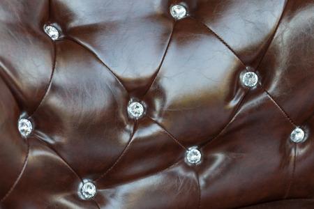 brown leather sofa: brown leather sofa texture Archivio Fotografico