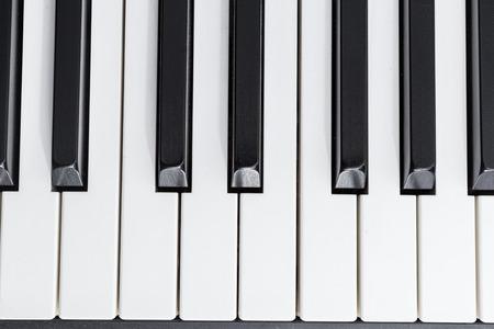 piano: primer plano de piano eléctrico
