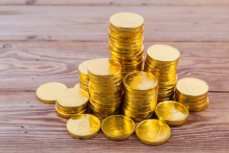 coin stack: gold coin stsck