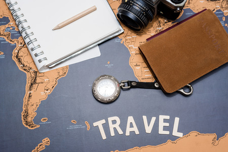 conceptual maps: trip planning with travel word
