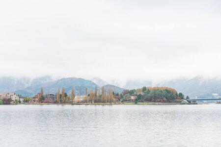 Autumn at Fuji Kawaguchi Lake,